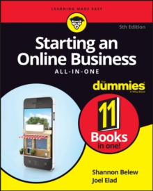 Starting an Online Business All-In-One for Dummies, 5th Edition, Paperback Book