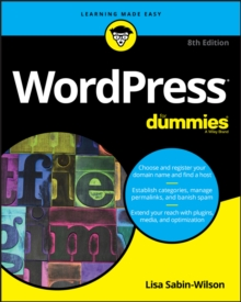 WordPress For Dummies, Paperback Book
