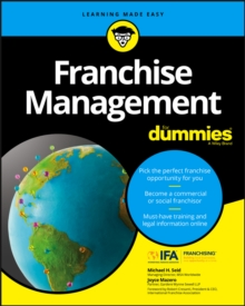 Franchise Management For Dummies, Paperback Book