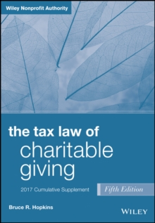 The Tax Law of Charitable Giving, 2017 Supplement, PDF eBook