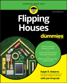 Flipping Houses For Dummies, Paperback Book