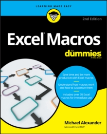 Excel Macros for Dummies, 2nd Edition, Paperback Book