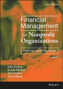 Financial Management for Nonprofit Organizations : Policies and Practices, Hardback Book
