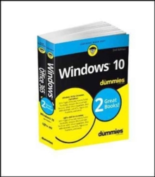 Windows 10 & Office 365 For Dummies, Book + Video Bundle, Paperback Book