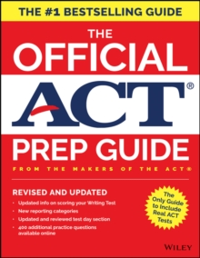 The Official ACT Prep Guide, 2018 : Official Practice Tests + 400 Bonus Questions Online, Paperback Book