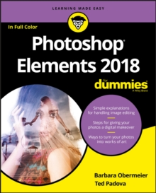 Photoshop Elements 2018 For Dummies, Paperback Book