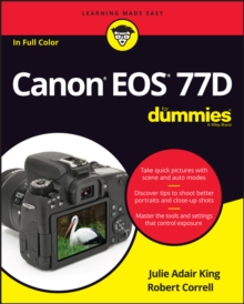 Canon EOS 77D For Dummies, EPUB eBook