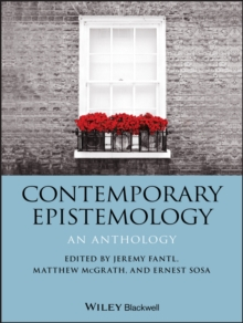 Contemporary Epistemology : An Anthology, PDF eBook