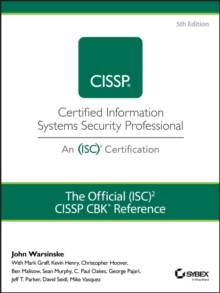 The Official (ISC)2 Guide to the CISSP CBK Reference, Hardback Book
