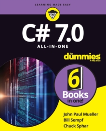 C# 7.0 All-in-One For Dummies, Paperback Book