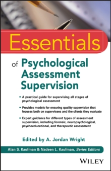 Essentials of Psychological Assessment Supervision, PDF eBook