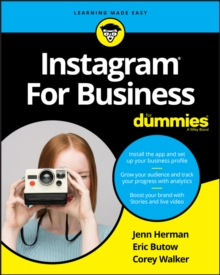 Instagram For Business For Dummies, Paperback Book
