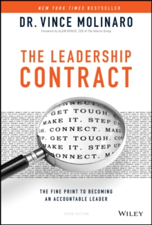The Leadership Contract : The Fine Print to Becoming an Accountable Leader, Hardback Book