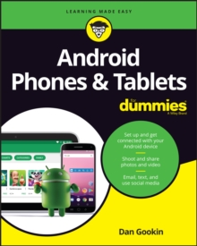 Android Phones & Tablets For Dummies, Paperback Book