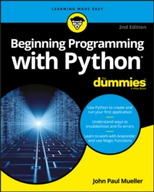 Beginning Programming with Python For Dummies, Paperback / softback Book
