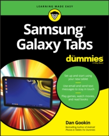 Samsung Galaxy Tabs For Dummies, Paperback / softback Book