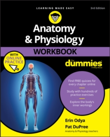Anatomy & Physiology Workbook For Dummies with Online Practice, EPUB eBook