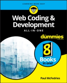 Web Coding & Development All-in-One For Dummies, Paperback Book