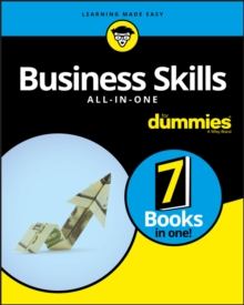 Business Skills All-in-One For Dummies, Paperback / softback Book