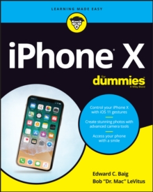 iPhone X For Dummies, Paperback / softback Book