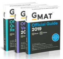 GMAT Official Guide 2019 Bundle : Books + Online, Paperback Book