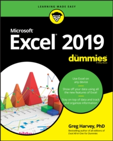 Excel 2019 For Dummies, Paperback / softback Book