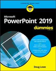 PowerPoint 2019 For Dummies, Paperback / softback Book
