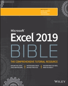 Excel 2019 Bible, Paperback / softback Book
