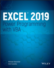 Excel 2019 Power Programming with VBA, Paperback / softback Book