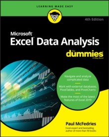Excel Data Analysis For Dummies, Paperback / softback Book