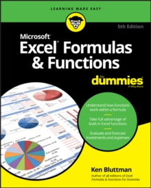 Excel Formulas & Functions For Dummies, Paperback / softback Book