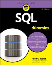 SQL For Dummies, Paperback / softback Book