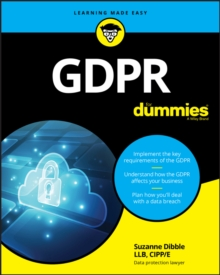 GDPR For Dummies, Paperback / softback Book