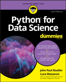 Python for Data Science For Dummies, EPUB eBook