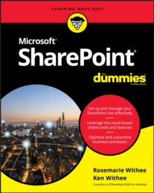 SharePoint For Dummies, Paperback / softback Book