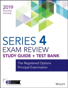Wiley Series 4 Securities Licensing Exam Review 2019 + Test Bank : The Registered Options Principal Examination, EPUB eBook