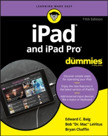 iPad and iPad Pro For Dummies, Paperback / softback Book