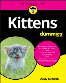 Kittens For Dummies, PDF eBook