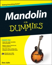 Mandolin For Dummies, Paperback Book
