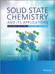 Solid State Chemistry and its Applications, Paperback Book