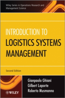 Introduction to Logistics Systems Management, Hardback Book