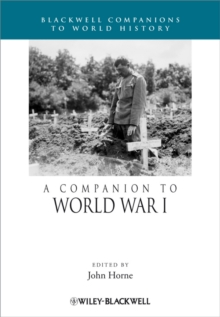 A Companion to World War I, Paperback Book