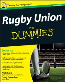 Rugby Union For Dummies, Paperback Book
