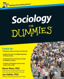 Sociology For Dummies, Paperback / softback Book