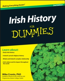 Irish History For Dummies, Paperback / softback Book