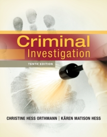 Criminal Investigation, Hardback Book