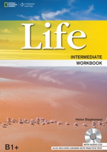 Life Intermediate: Workbook with Key and Audio CD, Mixed media product Book