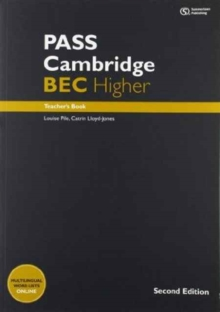 PASS Cambridge BEC Higher : PASS Cambridge BEC Higher: Teacher's Book + Audio CD Teacher's Book, Mixed media product Book