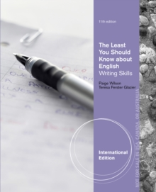 The Least You Should Know About English : Writing Skills, Form B, International Edition, Paperback Book