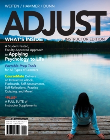ADJUST (with CourseMate, 1 term (6 months) Printed Access Card), Mixed media product Book